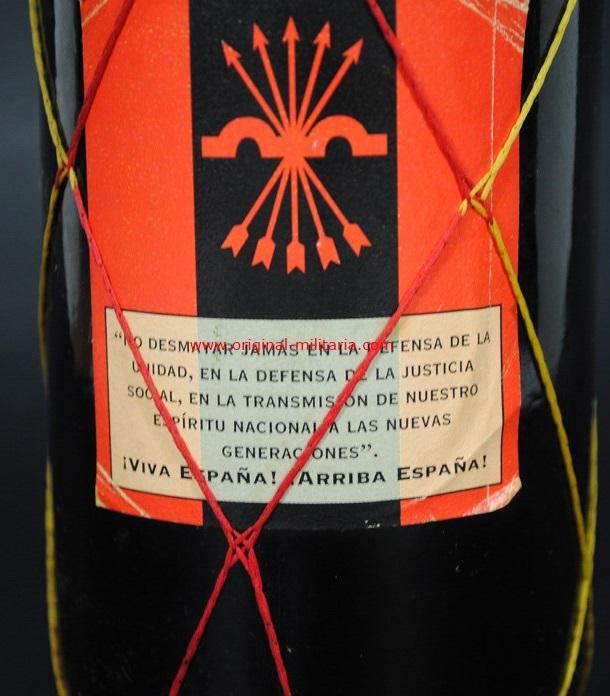 "Botella de Vino Conmemorativa de ""Primo de Rivera"""