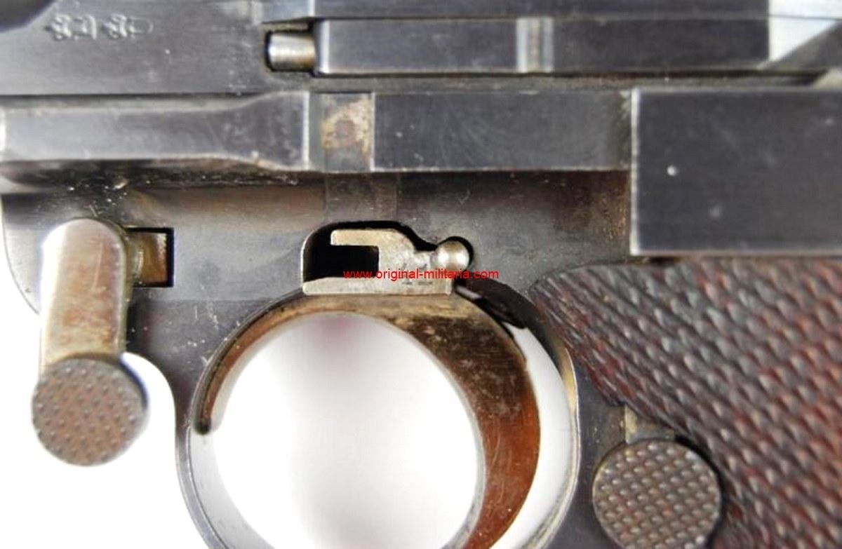 Luger DWM M1900 Comercial en Estuche de Presentación