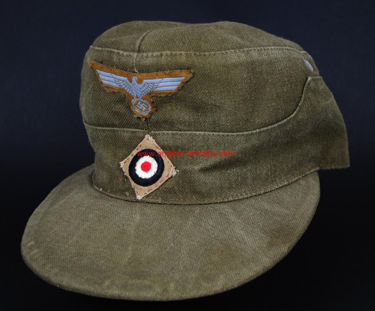 DAK/ Gorra M41 para Suboficiales y Tropa de 1942