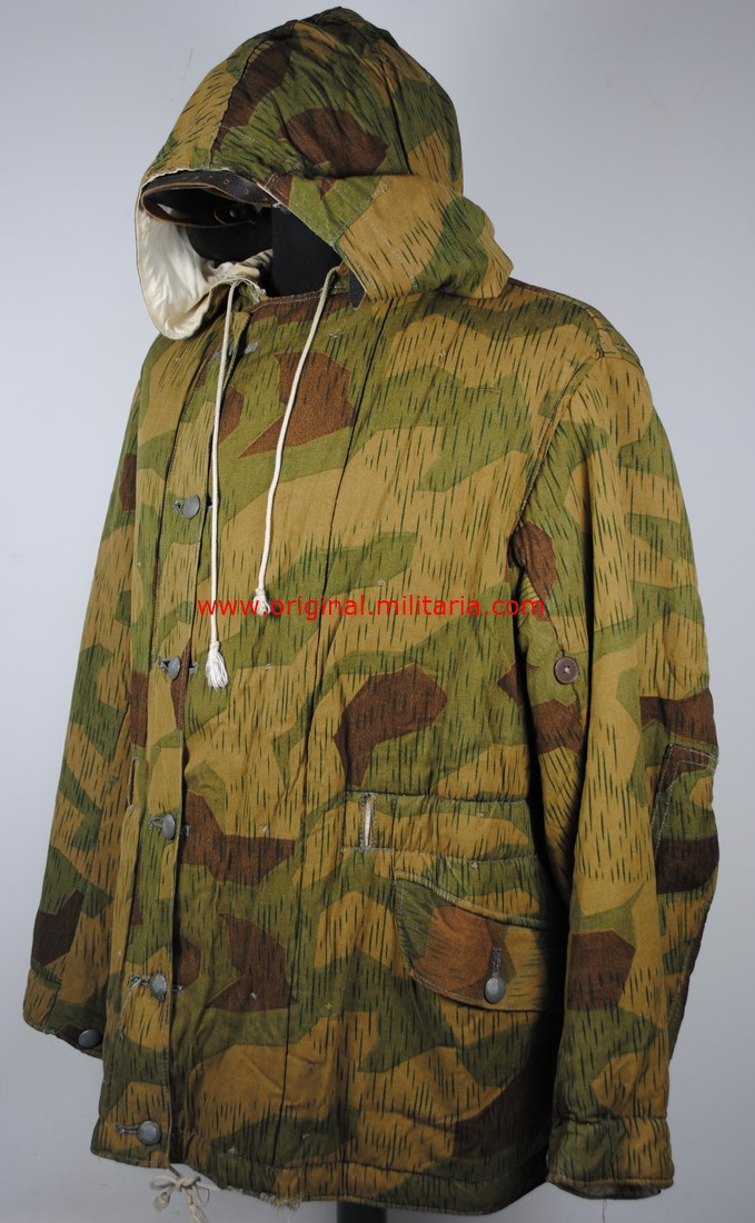 "WH/ Parka Reversible con Camuflaje ""Sumpftarnmusters"" , 1943/44"