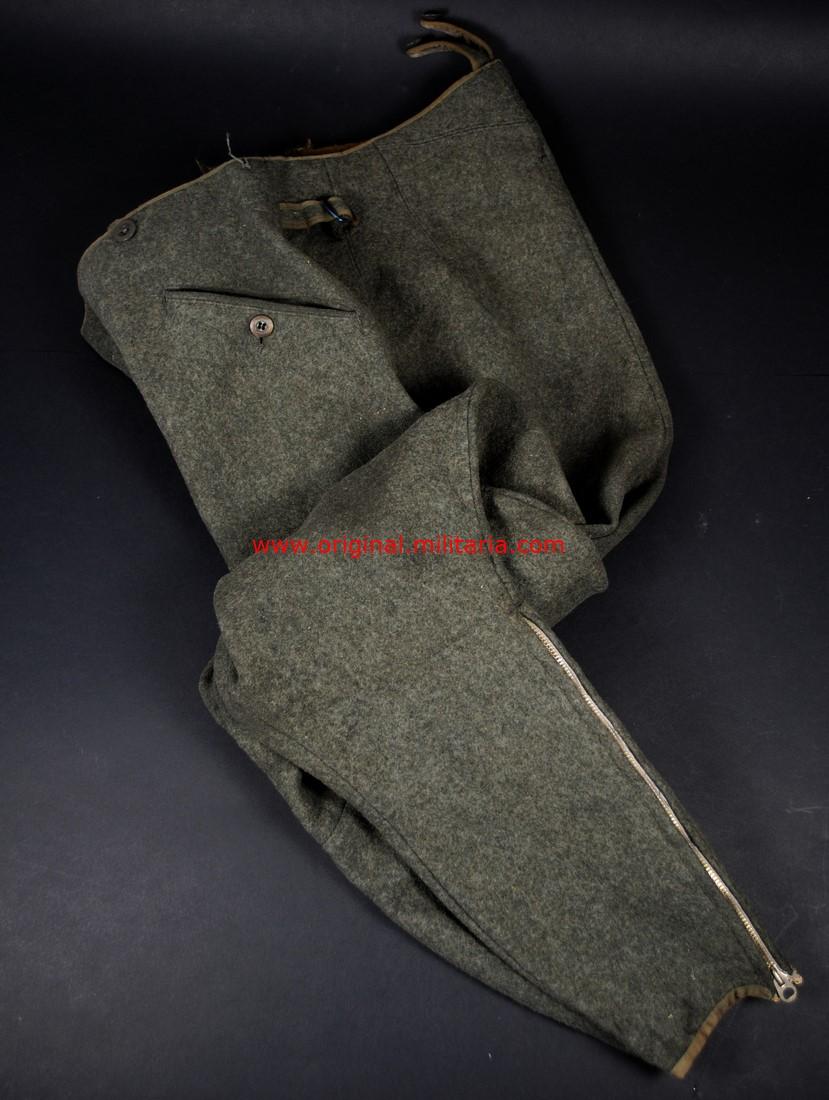 WH/ Pantalones de Montar para Oficiales y Suboficiales