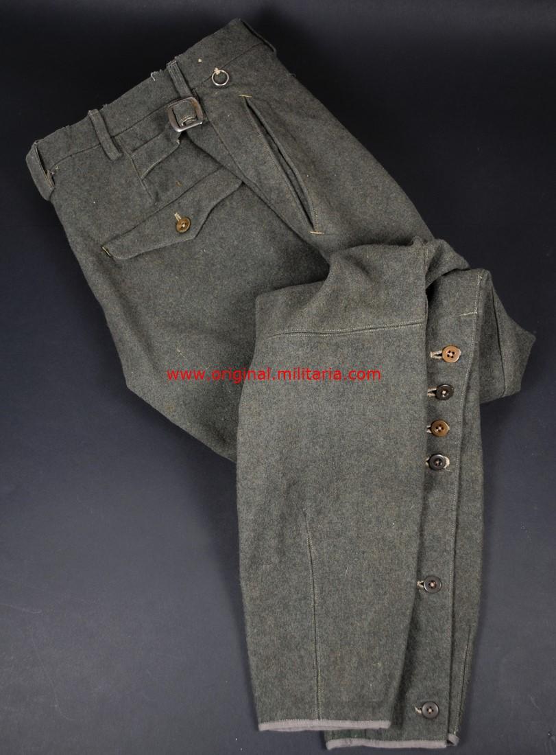 WH/ Pantalones de Montar para Oficiales y Suboficiales, 1941