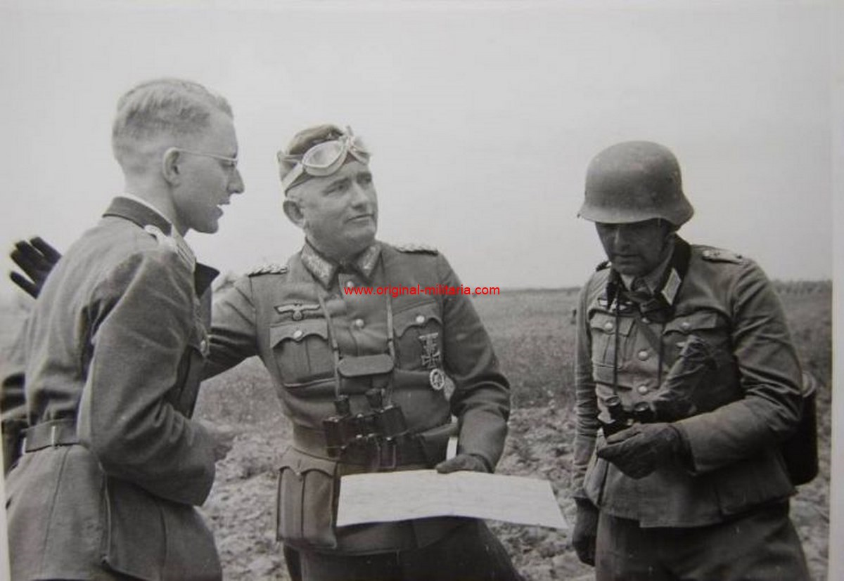 "Foto de Prensa del General ""Friedrich Maximilian Siebert"""