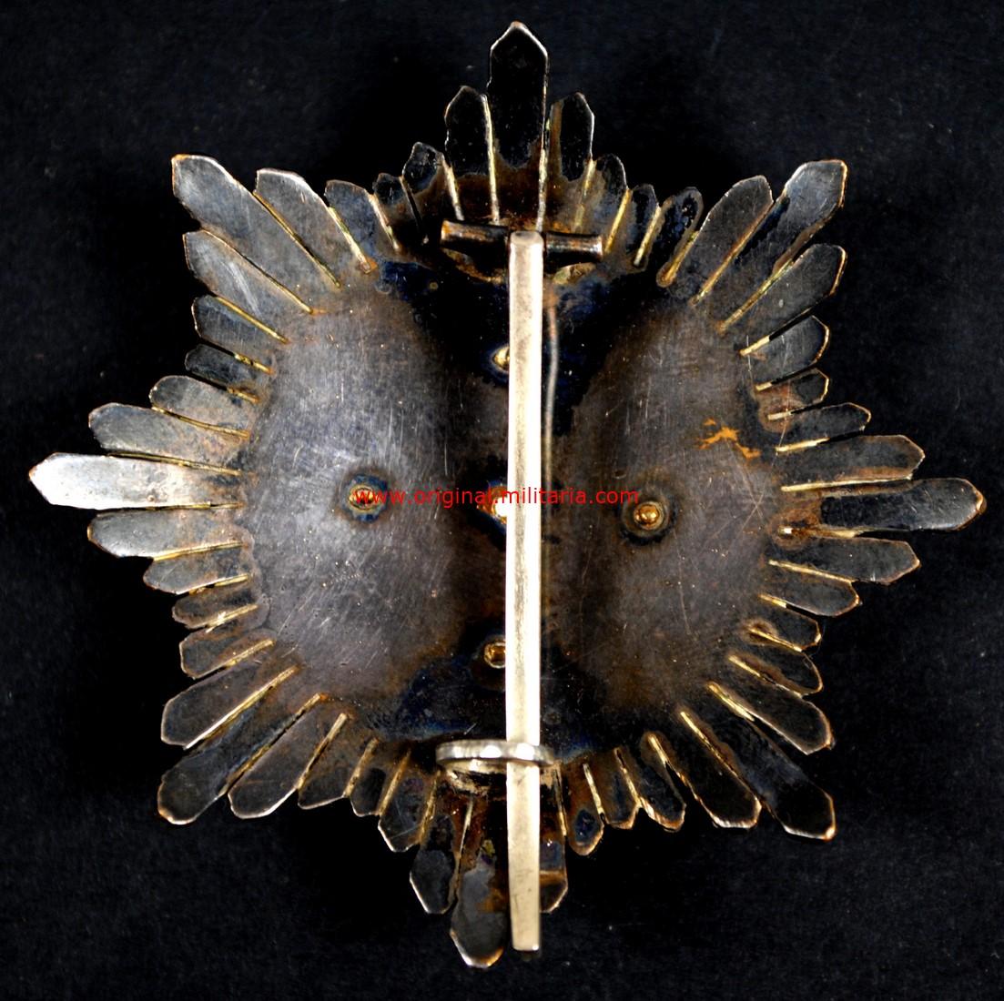 Cruz de Guerra al Mérito en Campañal, 1er Modelo, Egaña