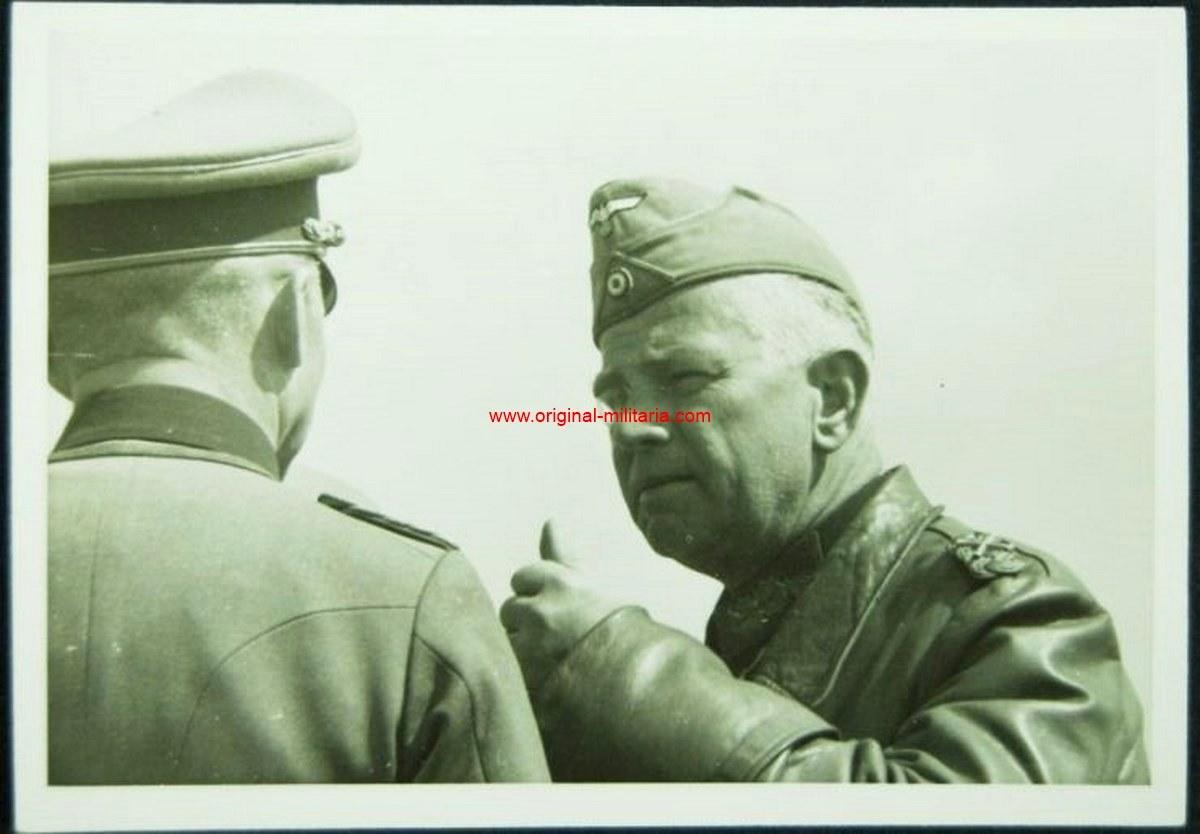 """Foto Original Privada del Mariscal de Campo """"Reicheanu"""""""