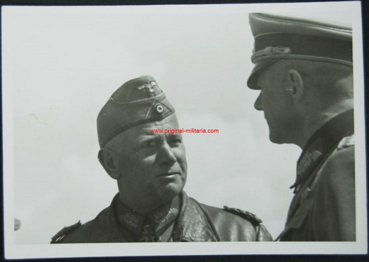 """Foto Original Privada del Mariscal de Campo """"Reichenau"""""""