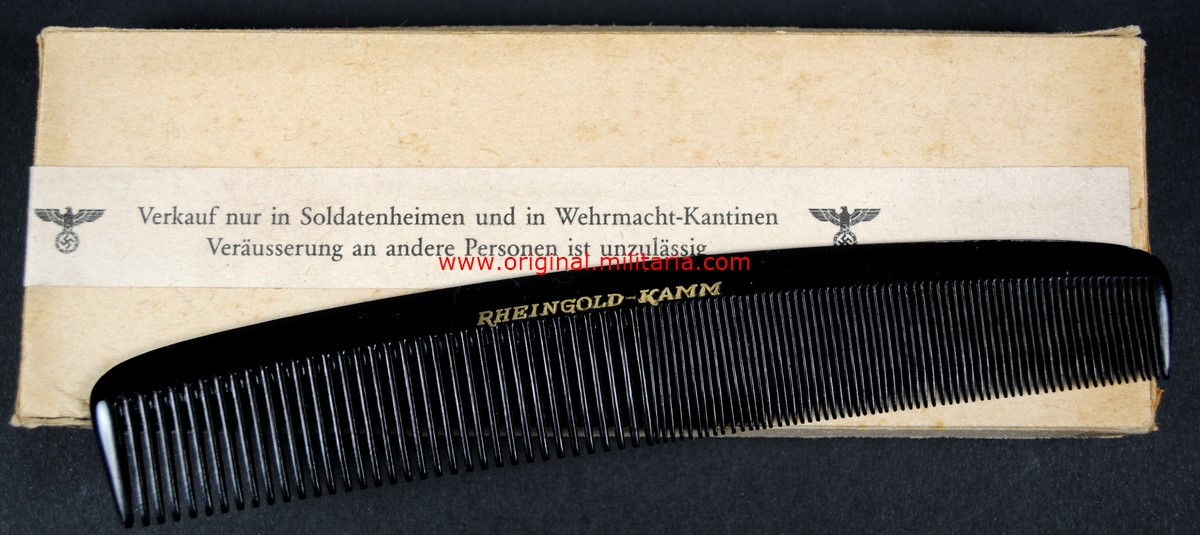 "WH/ Peine de la Marca ""Rheingold-Kamm"""