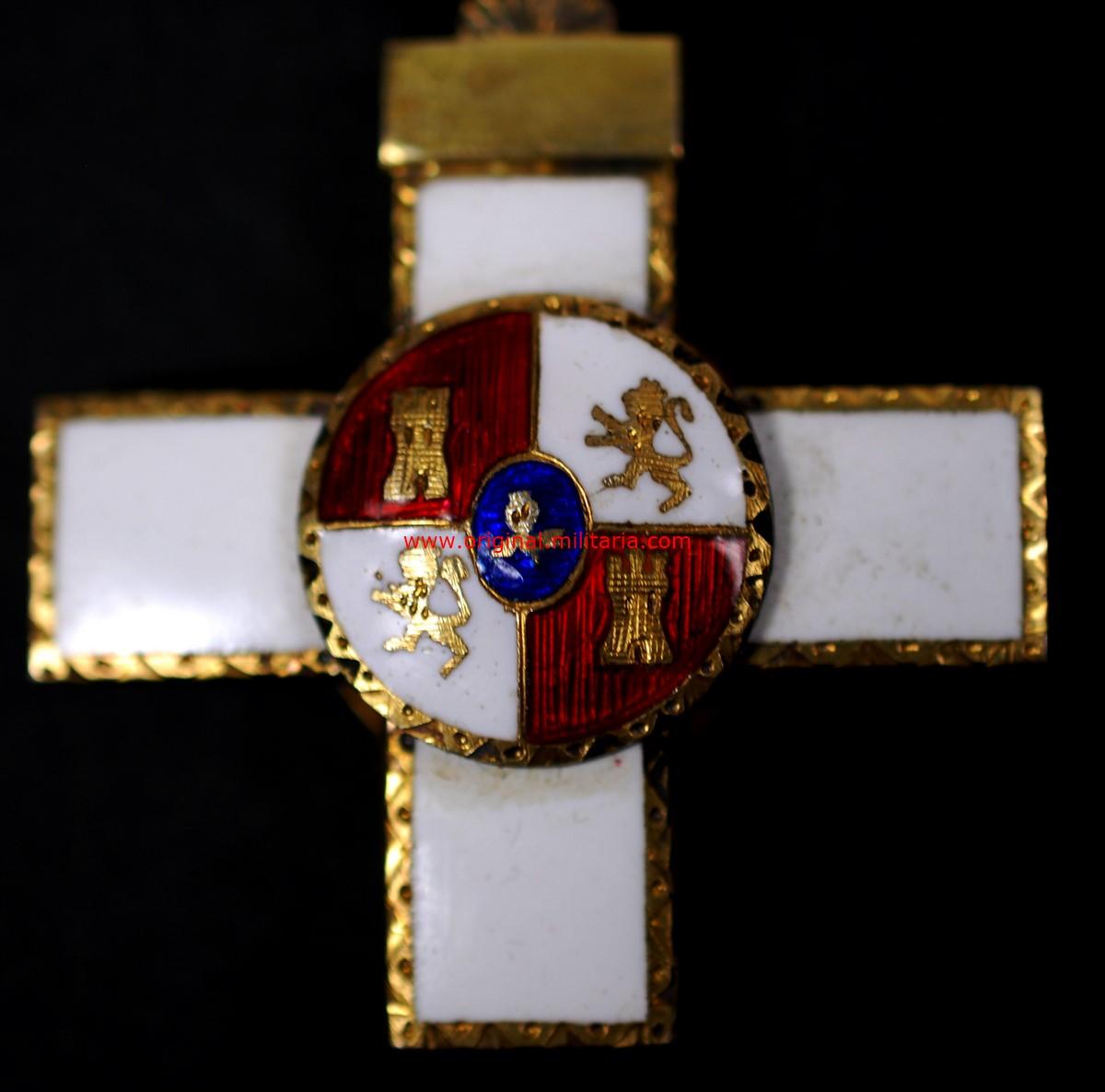 Cruz de la Orden del Mérito Militar Dstintivo Blanco