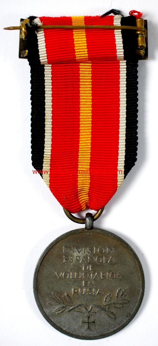 """WH/DA, Medalla de los Voluntarios de la División Azul. Modelo alemán de 1944, Marcado """"1"""""""
