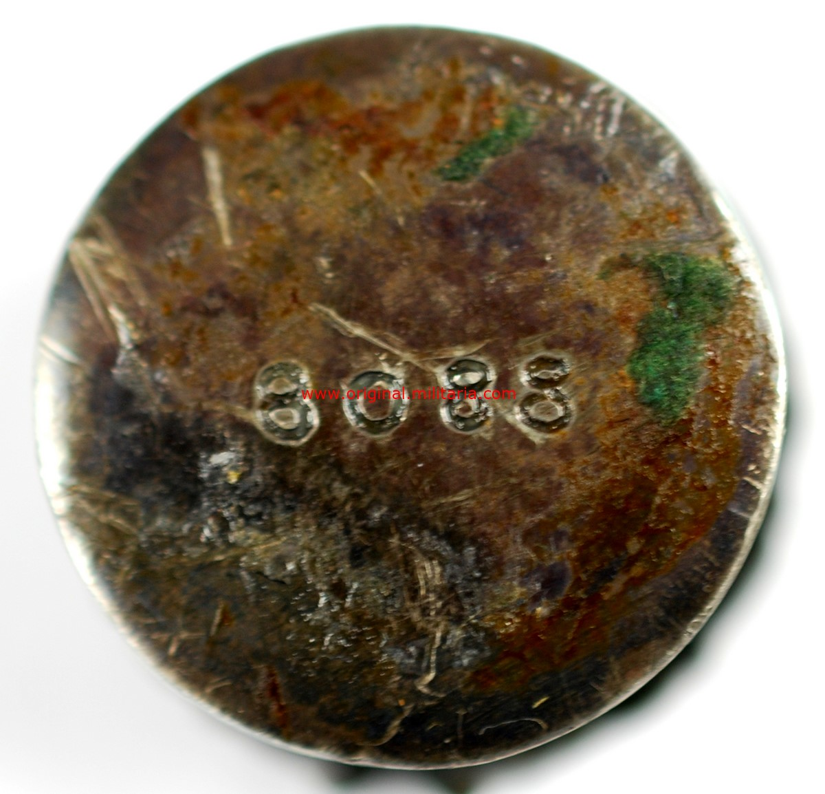 Miniatura de Ojal de la Medalla de la Vieja Guardia con Número 8088.