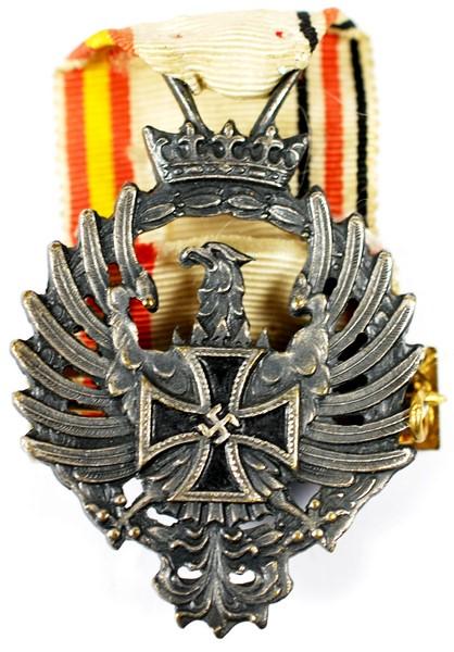 WH/DA, Medalla de la División Azul, 1er Modelo de 1943