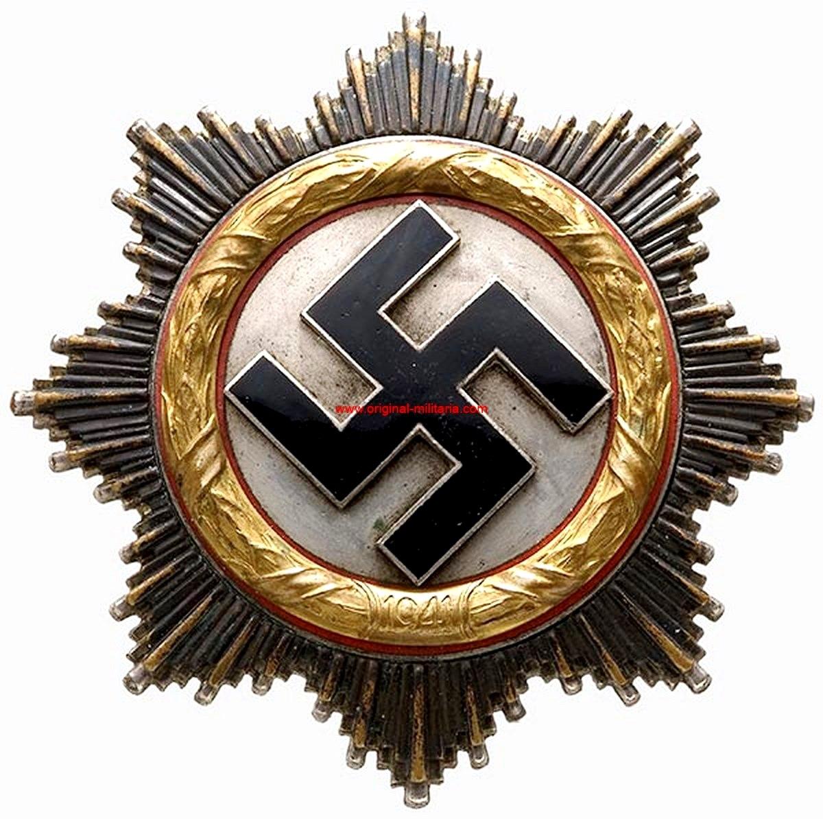 Cruz Alemana 1941 Categoría Oro
