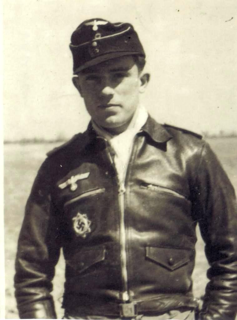 "LW/ Chaqueta de Vuelo ""Hartmann"" de Comandante Piloto de Combate"