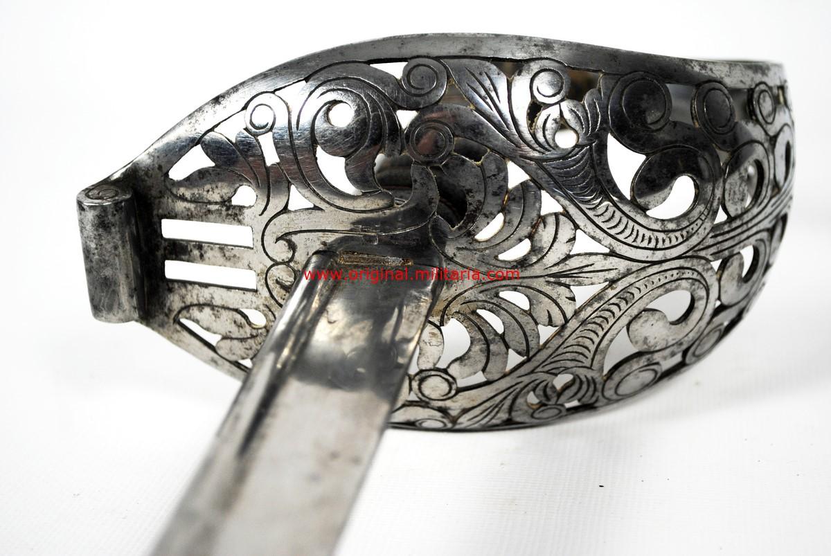 Sable de Tropa para Caballería Ligera M1840, de WKC,Imperio Austro Húngaro