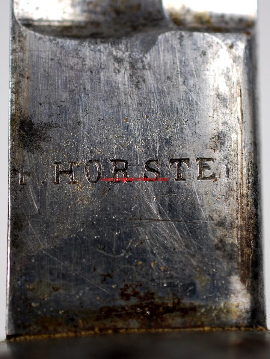 Sable de Oficial para Caballería Ligera M1840, de F. Horster, Solingen, Imperio Austro Húngaro