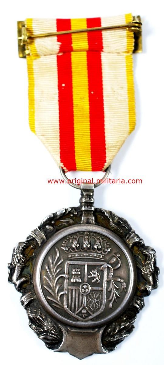 Medalla Militar Individual de la Monarquía (1918-1931), Primer modelo (fundacional)