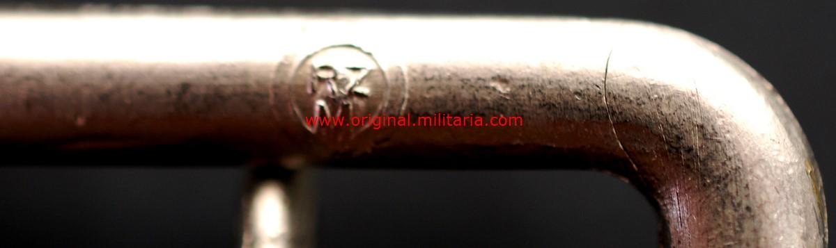 """NSDAP/ Cinturón Politico con """"RZM"""", """"Logo del Fabricante"""" y """"Waffenamt"""", M1939"""