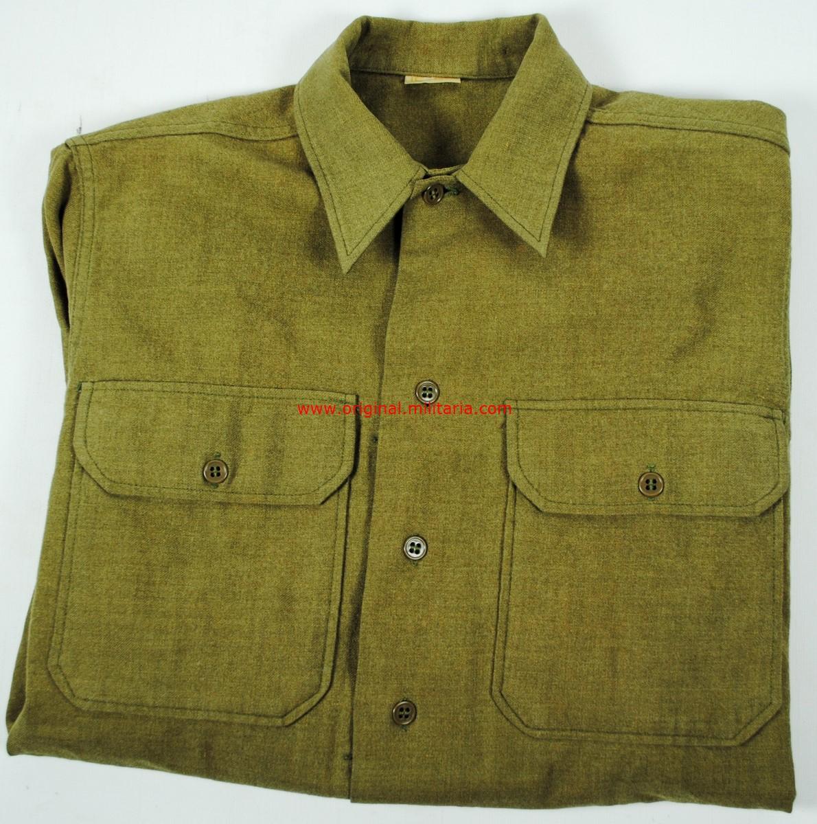 USA/ Camisa de Combate M37 de WW2