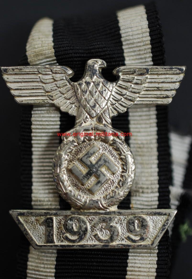 "Barra de la EK2 1939, del 2º Modelo, Variante de ""Ziemer & hijos, Idar-Oberstein"". Marcada"
