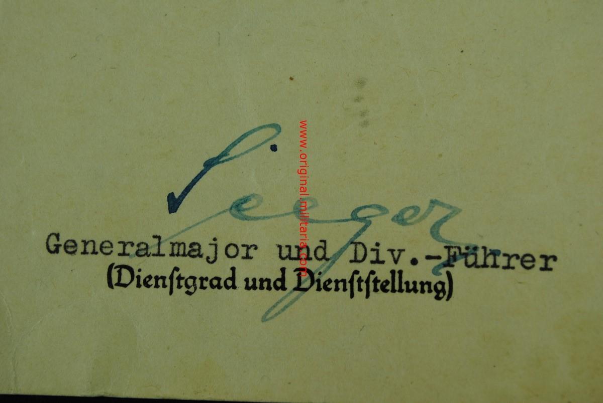 """WH/ Concesión de la EK2 al """"Gefreiten Herbert Sommerfeld"""""""