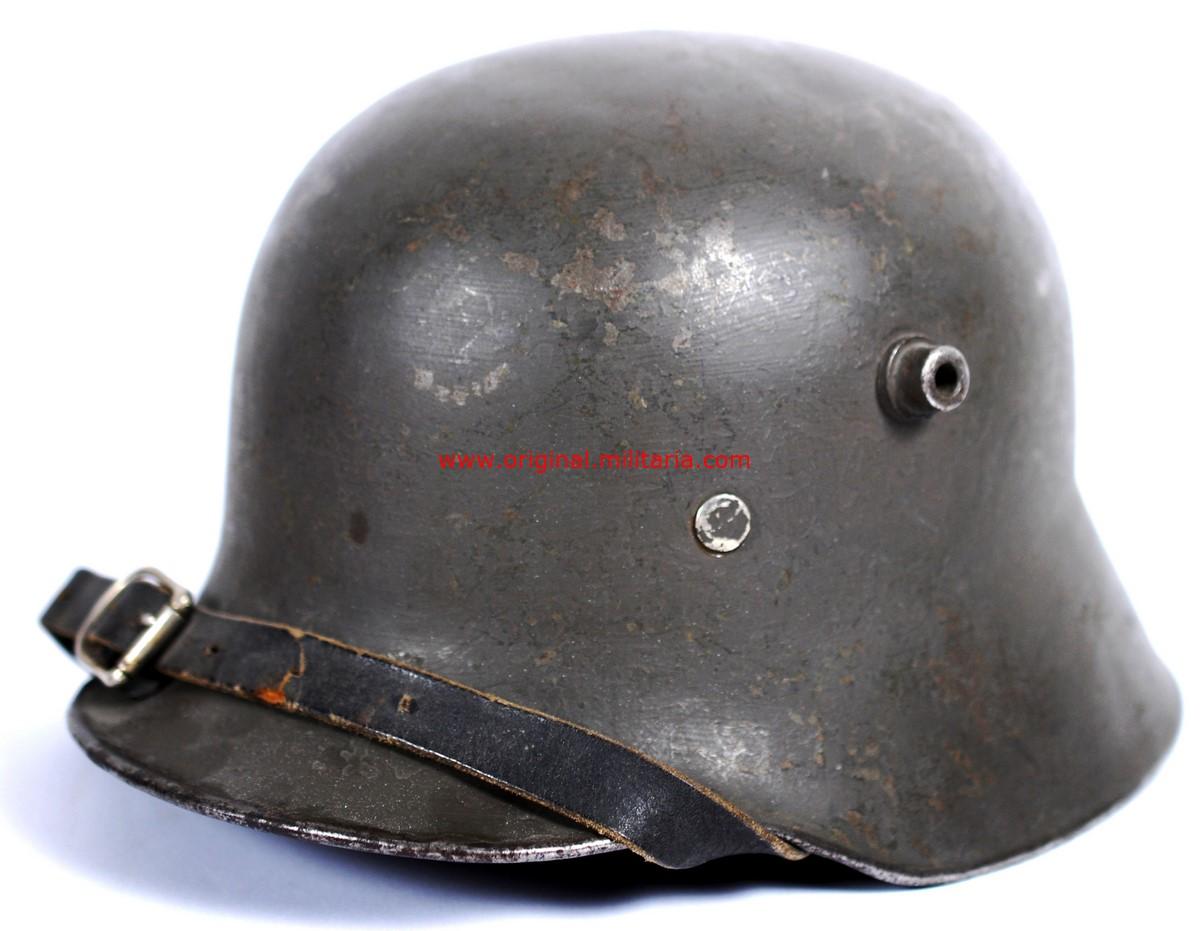 """Casco Alemán M16/17 """"ET 64"""", Rehusado por el Ejército Finlandés"""