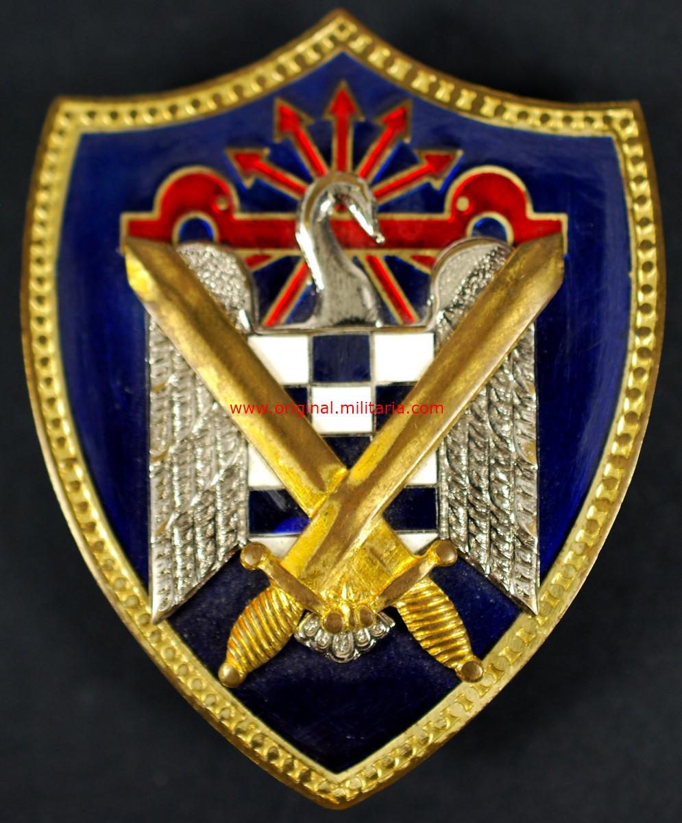Placa del SEU (Milicias Universitarias de Falange)