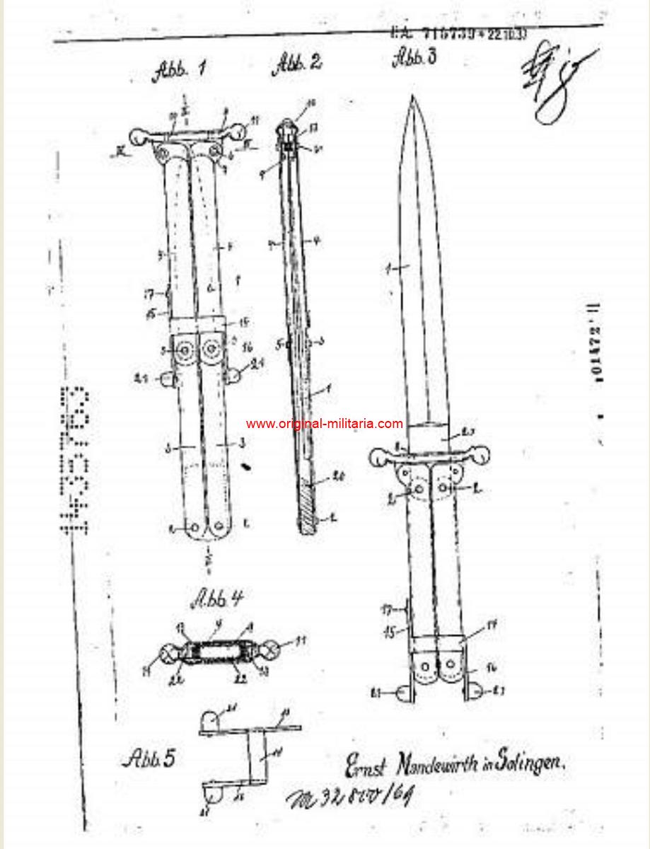 """Cuchillo Pantografico o de """"Paracaidista"""""""