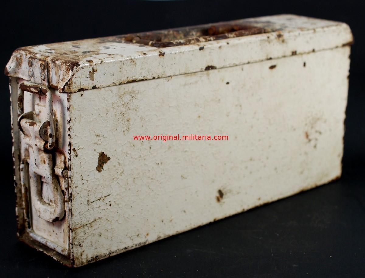 WH/ Caja M41 de Munición con Camuflaje de Invierno para la MG34/42