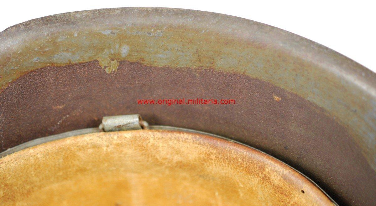 KM/ Casco M42 de Camuflaje con Sello