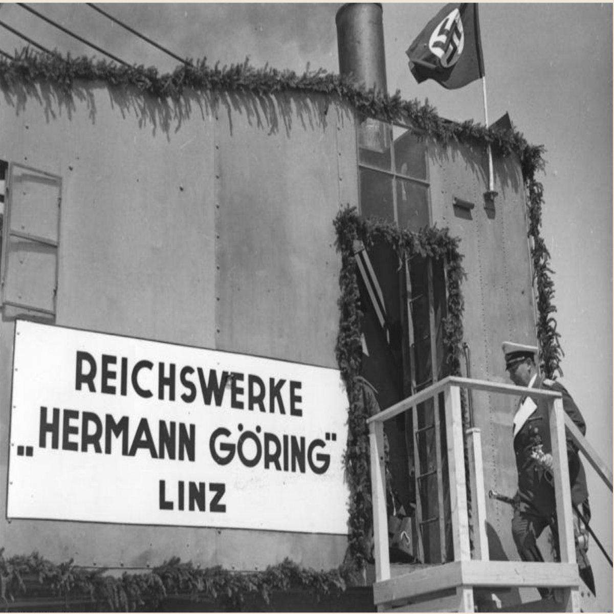 "NSDAP/ Reloj ""Junghans"" con Dedicatoria del ""Reichswerke Hermann Göring"""