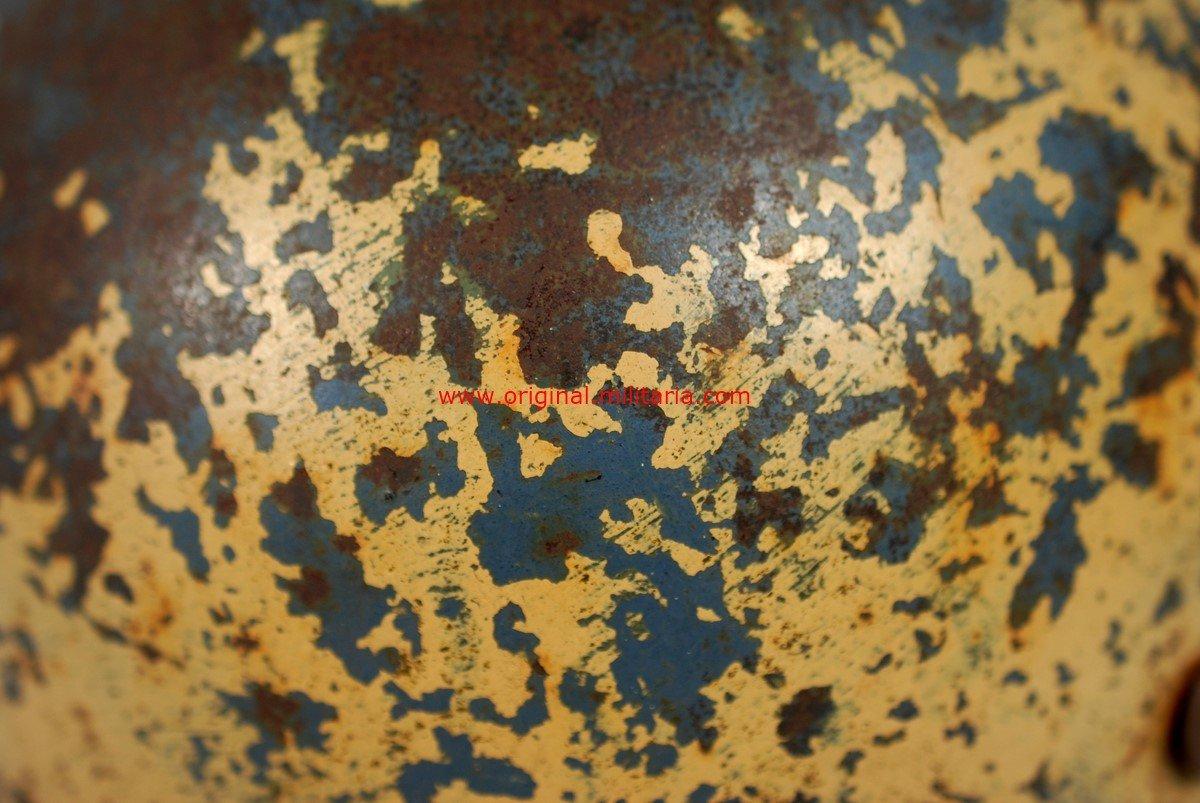 LW/DAK/ITALIA Casco M35 con Camuflaje color Arena