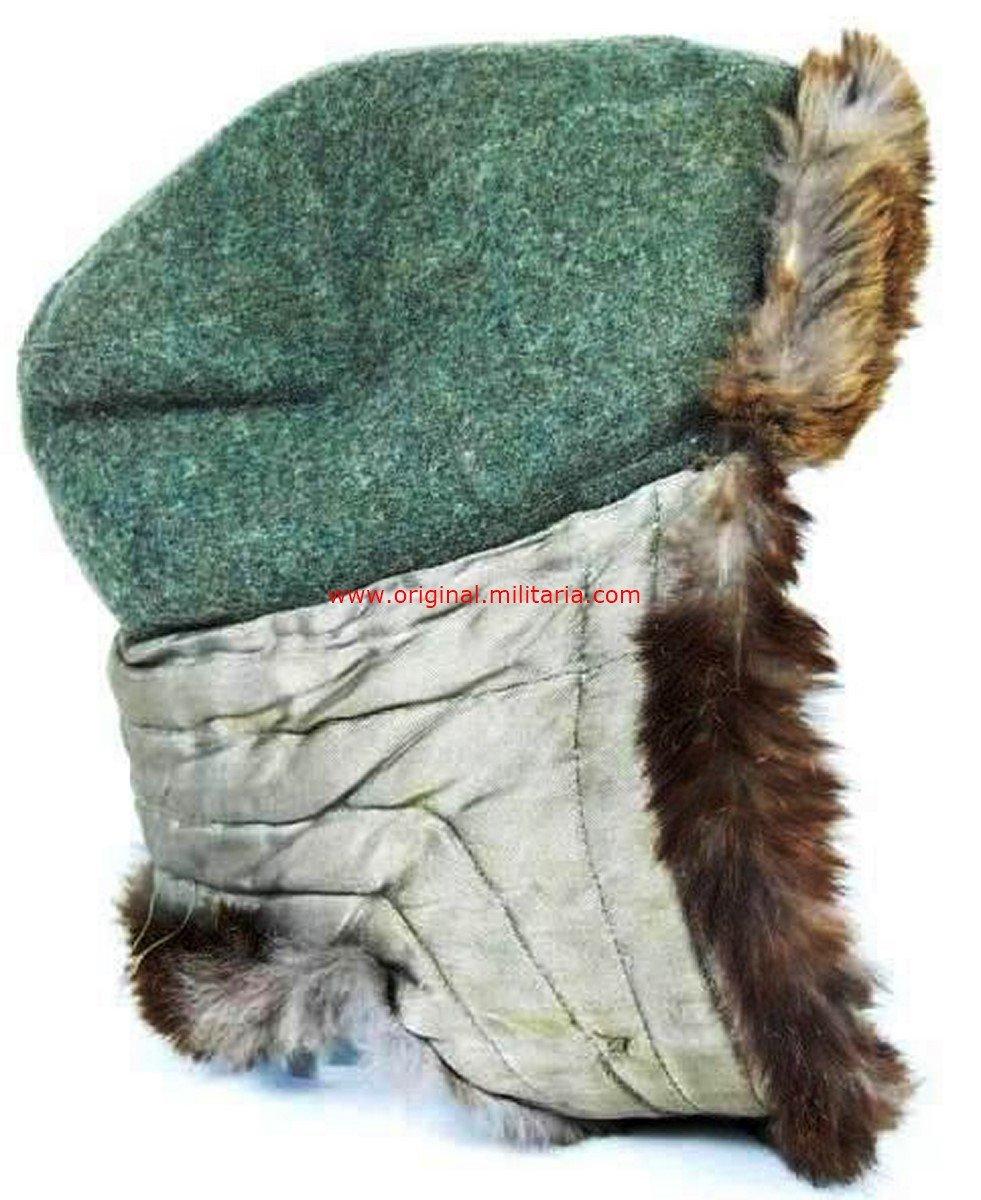 WH/Heer, Gorro de Piel de Invierno M43, Frente del Este